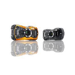 Ricoh WG-50 Waterproof Camera - Orange Thumbnail Image 1