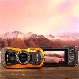 Ricoh WG-50 Waterproof Camera - Orange Thumbnail Image 2