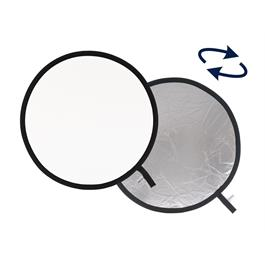 Lastolite Collapsible Reflector 30cm Silver/White LL LR1231 thumbnail