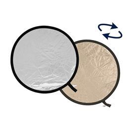 Lastolite Collapsible Reflector 30cm Sunlite/Soft Silver LL LR1228 thumbnail