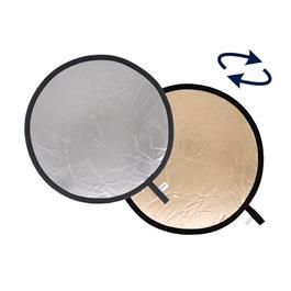 Lastolite Collapsible Reflector 30cm Sunfire/Silver LL LR1236 thumbnail