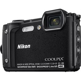 Nikon Coolpix W300 Waterproof Compact Camera in Black Thumbnail Image 1