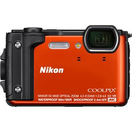 Nikon Coolpix W300 Waterproof Compact Camera in Orange Thumbnail Image 0