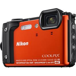 Nikon Coolpix W300 Waterproof Compact Camera in Orange Thumbnail Image 1