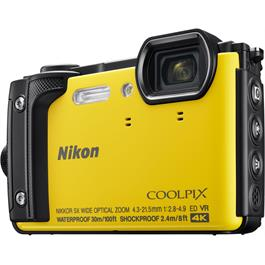 Nikon Coolpix W300 Waterproof Compact Camera in Yellow Thumbnail Image 1