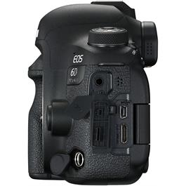 Canon EOS 6D Mark II Left Ports Open