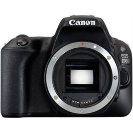 Canon EOS 200D DSLR Camera Body in Black thumbnail