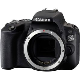 Canon EOS 200D DSLR Camera Body in Black Thumbnail Image 1