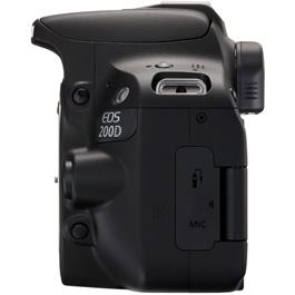 Canon EOS 200D DSLR Camera Body in Black Thumbnail Image 6