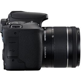 Canon EOS 200D DSLR Camera in Black + 18-55mm IS STM Lens Kit Thumbnail Image 3