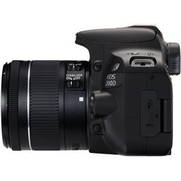 Canon EOS 200D DSLR Camera in Black + 18-55mm IS STM Lens Kit Thumbnail Image 4