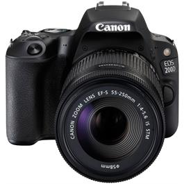 Canon EOS 200D DSLR Camera in Black + 18-55mm IS STM Lens Kit Thumbnail Image 6