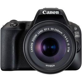 Canon EOS 200D DSLR Camera in Black + 18-55mm IS STM Lens Kit Thumbnail Image 7