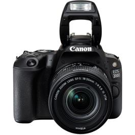 Canon EOS 200D DSLR Camera in Black + 18-55mm IS STM Lens Kit Thumbnail Image 8