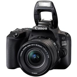 Canon EOS 200D DSLR Camera in Black + 18-55mm IS STM Lens Kit Thumbnail Image 9