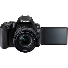 Canon EOS 200D DSLR Camera in Black + 18-55mm IS STM Lens Kit Thumbnail Image 14