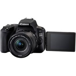 Canon EOS 200D DSLR Camera in Black + 18-55mm IS STM Lens Kit Thumbnail Image 16
