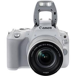 Canon EOS 200D DSLR Camera in White + 18-55mm IS STM Lens Kit Thumbnail Image 5