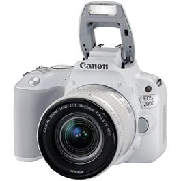 Canon EOS 200D DSLR Camera in White + 18-55mm IS STM Lens Kit Thumbnail Image 6
