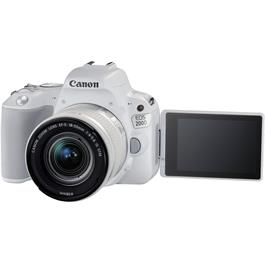 Canon EOS 200D DSLR Camera in White + 18-55mm IS STM Lens Kit Thumbnail Image 10