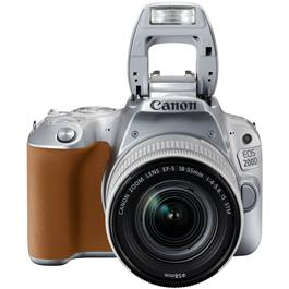 Canon EOS 200D DSLR Camera in Silver + 18-55mm IS STM Lens Kit Thumbnail Image 5