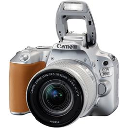 Canon EOS 200D DSLR Camera in Silver + 18-55mm IS STM Lens Kit Thumbnail Image 6