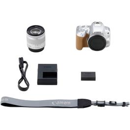 Canon EOS 200D DSLR Camera in Silver + 18-55mm IS STM Lens Kit Thumbnail Image 14
