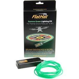 "FlatHat Lighting Kit for 16"" & 32"" Drone Pad - Gamma Green thumbnail"