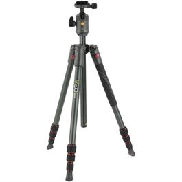 Vanguard VEO 2 204AB Travel Tripod Kit with Ball Head Red thumbnail