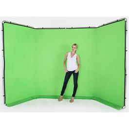 Lastolite 4m Panoramic Background Chromakey Green thumbnail