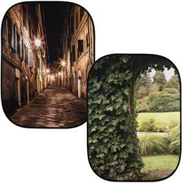 Lastolite Perspective BG Evening Street & Ivy Archway 2.15 x 1.54m Studio Background Thumbnail Image 0