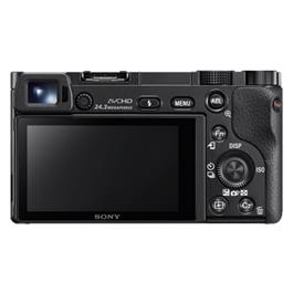 Sony A6000 mirrorless digital camera + 16-50mm Power Zoom Lens - Black Thumbnail Image 3
