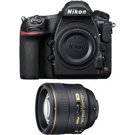 Nikon D850 DSLR Body + Nikkor 85mm f/1.4G Lens Kit thumbnail