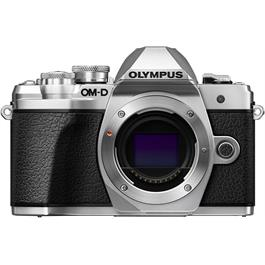 Olympus OM-D E-M10 Mark III Mirrorless Camera Body - Silver thumbnail