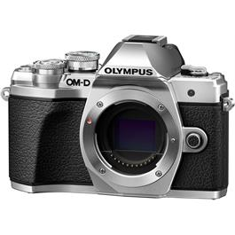 Olympus OM-D E-M10 Mark III Mirrorless Camera Body - Silver Thumbnail Image 1