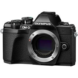 Olympus OM-D E-M10 Mark III Mirrorless Camera Body - Black Thumbnail Image 1