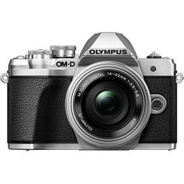 Olympus OM-D E-M10 Mark III Camera With 14-42mm EZ Lens Kit - Silver thumbnail