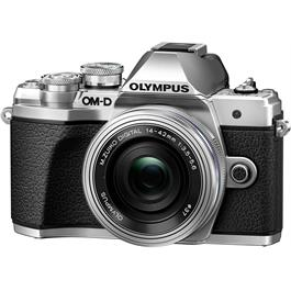 Olympus OM-D E-M10 Mark III Camera With 14-42mm EZ Lens Kit - Silver Thumbnail Image 1