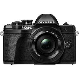 Olympus OM-D E-M10 Mark III Camera With 14-42mm EZ Lens Kit - Black thumbnail