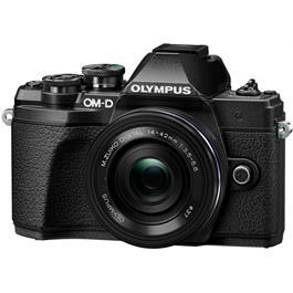 Olympus OM-D E-M10 Mark III Camera With 14-42mm EZ Lens Kit - Black Thumbnail Image 1