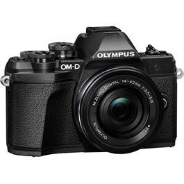 Olympus OM-D E-M10 Mark III Camera With 14-42mm EZ Lens Kit - Black Thumbnail Image 2