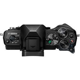 Olympus OM-D E-M10 Mark III Camera With 14-42mm EZ Lens Kit - Black Thumbnail Image 4