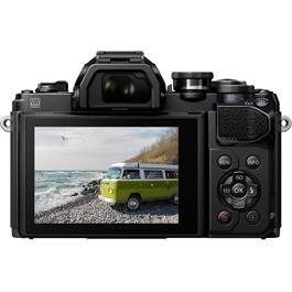 Olympus OM-D E-M10 Mark III Camera With 14-42mm EZ Lens Kit - Black Thumbnail Image 5