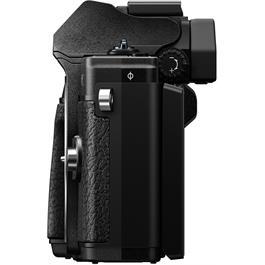 Olympus OM-D E-M10 Mark III & 14-42mm EZ & 40-150mm Twin Lens Kit - Black Thumbnail Image 3