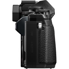 Olympus OM-D E-M10 Mark III & 14-42mm EZ & 40-150mm Twin Lens Kit - Black Thumbnail Image 4