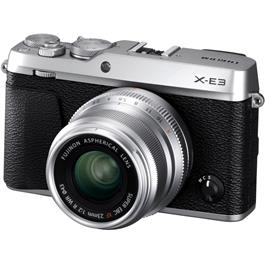 Fujifilm X-E3 Mirrorless Camera With XF 23mm f/2 R WR Lens Kit - Silver Thumbnail Image 1