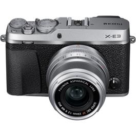 Fujifilm X-E3 Mirrorless Camera With XF 23mm f/2 R WR Lens Kit - Silver Thumbnail Image 2