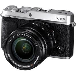 Fujifilm X-E3 Mirrorless Camera With XF 18-55mm Lens Kit - Silver Thumbnail Image 2