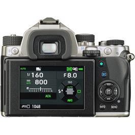 Pentax KP DSLR With HD DA 18-50mm f4-5.6 DC WR RE Lens Kit - Silver Thumbnail Image 2