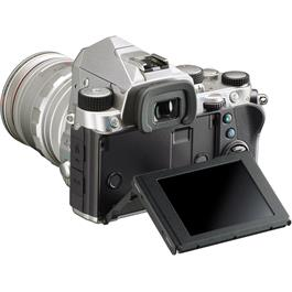 Pentax KP DSLR With HD DA 18-50mm f4-5.6 DC WR RE Lens Kit - Silver Thumbnail Image 3